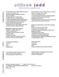 Resume Headings New Resume Heading Order