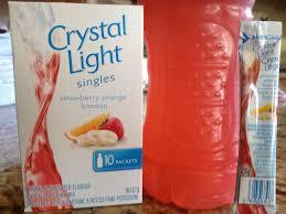 Crystal Light Drink Mix Strawberry Orange Banana Crystal Light Strawberry Orange Banana Singles Review News