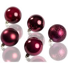 Chiccie Weihnachtskugeln Im 20 Set 6cm Verschieden Farben Christbaumschmuck