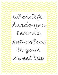 When Life Hands You Lemons Printables Printables Lemon Quotes