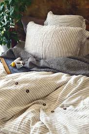 stonewashed linen duvet cover stripes and ons stone washed quilt