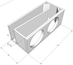 Loudest Subwoofer Box Design 2 X Sundown Sa15 Tapered T Line Single Subwoofer Box