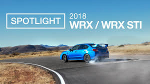 subaru neuheiten 2018. beautiful subaru the new 2018 subaru wrx and sti  spotlight intended subaru neuheiten