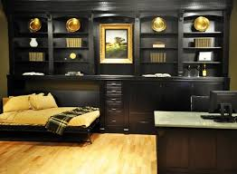 home office with murphy bed. Horizontal Murphy Bed Traditional-home-office Home Office With O