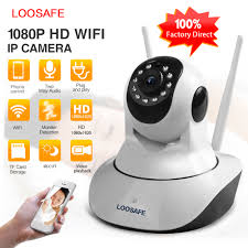 <b>LOOSAFE WIFI HD 1080P</b> IP Camera Home Surveillance Camera 2 ...