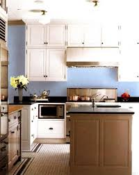 Interesting Blue Kitchen Wall Colors Paint Lushome To Ideas