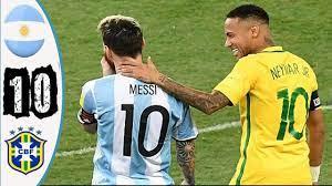 ملخص مباراه البرازيل والارجنتين 1-0 بطوله الكوبا امريكا تألق ديماريا وجنون  رؤف خليف - YouTube