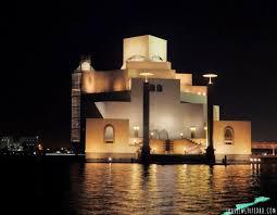 Dubai Lights Doha Qatar The Museum Of Islamic Art Doha Qatar Travel With Pedro