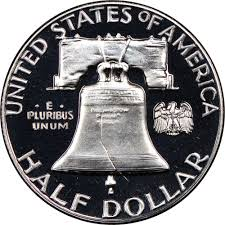 1959 Franklin Half Dollar Value Chart 1959 50c Pf Franklin Half Dollars Ngc