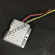 ezgo club car yamaha golf cart voltage converter reducer 36v 80v ezgo club car yamaha golf cart voltage reducer 12 24v to12v 10amps