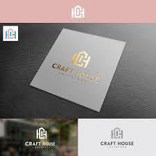 Flint Design Bold Playful Interior Design Logo Design For Craft House