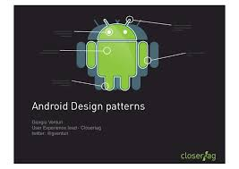 Android Design Patterns Classy Droidcon 48 Android Design Patterns