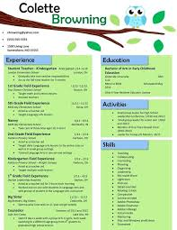 Resume Templates Teacher Enchanting Preschool Teacher Resume Sample Preschool Teacher Resume Samples