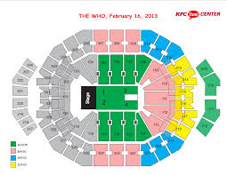 Organized Yum Center Virtual Seating Chart 2019