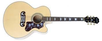 <b>Epiphone</b> EJ-200CE - <b>электро-акустическая гитара</b>, отзывы, обзор