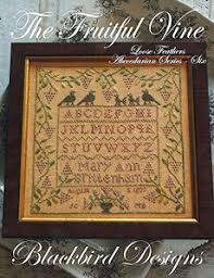 Blackbird Designs Cross Stitch Charts