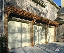 ideas about garage pergola on trellis door over white