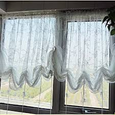 image of austrian balloon curtains