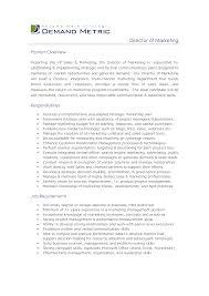 marketing executive job description jacksonville service director job description