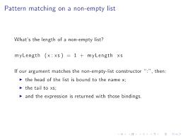 Haskell Pattern Matching