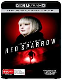 Amazon.com: Red Sparrow 4K UHD / Blu-ray | Jennifer Lawrence | NON-USA  Format | Region B Import - Australia: Jennifer Lawrence, Matthias  Schoenaerts, Joel Edgerton, Francis Lawrence: Movies & TV
