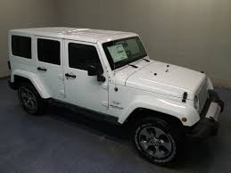 jeep wrangler white 4 door. 2017 bright white clearcoat jeep wrangler unlimited sahara automatic suv 4 door