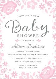Baby Shower Invitations That Can Be Edited Baby Shower Invitations Templates Match Your Color Style Free