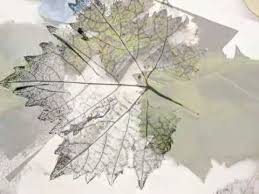 wine g leaf relief printing you