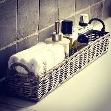 Bathroom Countertop Accessories Ideas Basket To Clean Up Bathroom