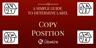 Label Unwind Chart How To Determine Your Label Copy Position