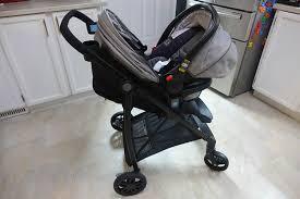graco travel views car seat on stroller seat