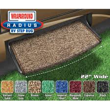 prest o fit wraparound radius rv step rug 22