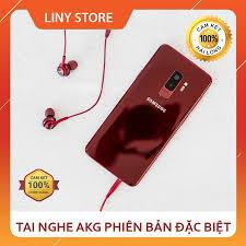 Tai Nghe AKG S9 Màu Đỏ - Bóc Máy Chuẩn Zin - khuyến mãi giá rẻ chỉ: 165.000  đ