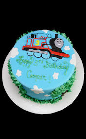 2d Thomas The Train Birthday Cake Butterfly Bake Shop In New York