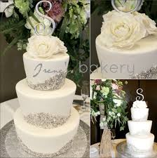 Modern Wedding Cake Irenes Bakery