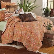 lone star western decor sunset range rustic quilt king cabin bedding linens