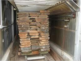 build wood drying kiln