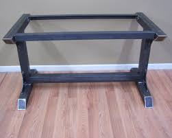 Kitchen Table Bases For Granite Tops Industrial Steel Table Base Kitchen Island Bar Legs Massive