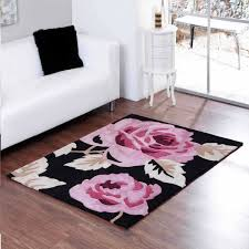 pink and black rug. Aspire Zaire Black Pink Rugs By Ultimate Rug 1 And B