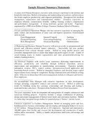 Sample Summary For Resume Summary Resume Examples Resume Summary Statement Example 36