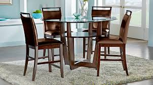 dining tables appealing counter height dining table counter height table ikea round glass dining table