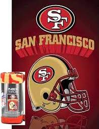 49ers Throw Blanket