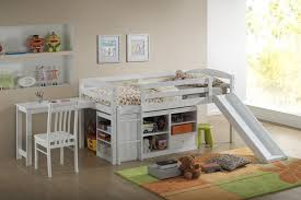kids low loft bed. Modren Loft Full Size Of Office Decorative Loft Bunk Bed With Slide 6 3a   And Kids Low