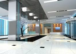 contemporary office lighting. Modern Office Lighting Design Contemporary Application Picture 1 X 4 Panelite Ultra Entrance Lamps A