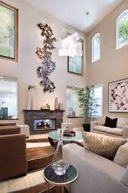 Paintings For Living Room Decor High Ceiling Rooms And Decorating Ideas For Them