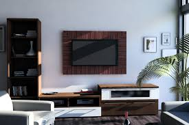 living room inspiring interior with tv wall panel unbelievable modern