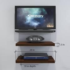 apollo set top box tv dvd player shelf