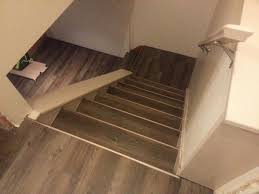 how to install vinyl plank flooring on stairs with allure designs and beautiful luxury of