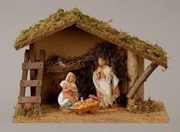 christmas stable. Perfect Christmas 35u0027u0027 Italian Stable Nativity Set Throughout Christmas I