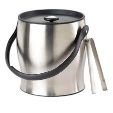 stainless steel ice bucket. Houdini Deluxe 4 Qt Stainless Steel Ice Bucket